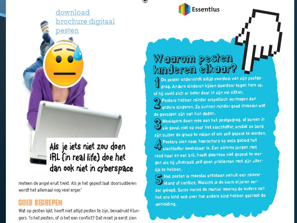 download brochure digitaal pesten