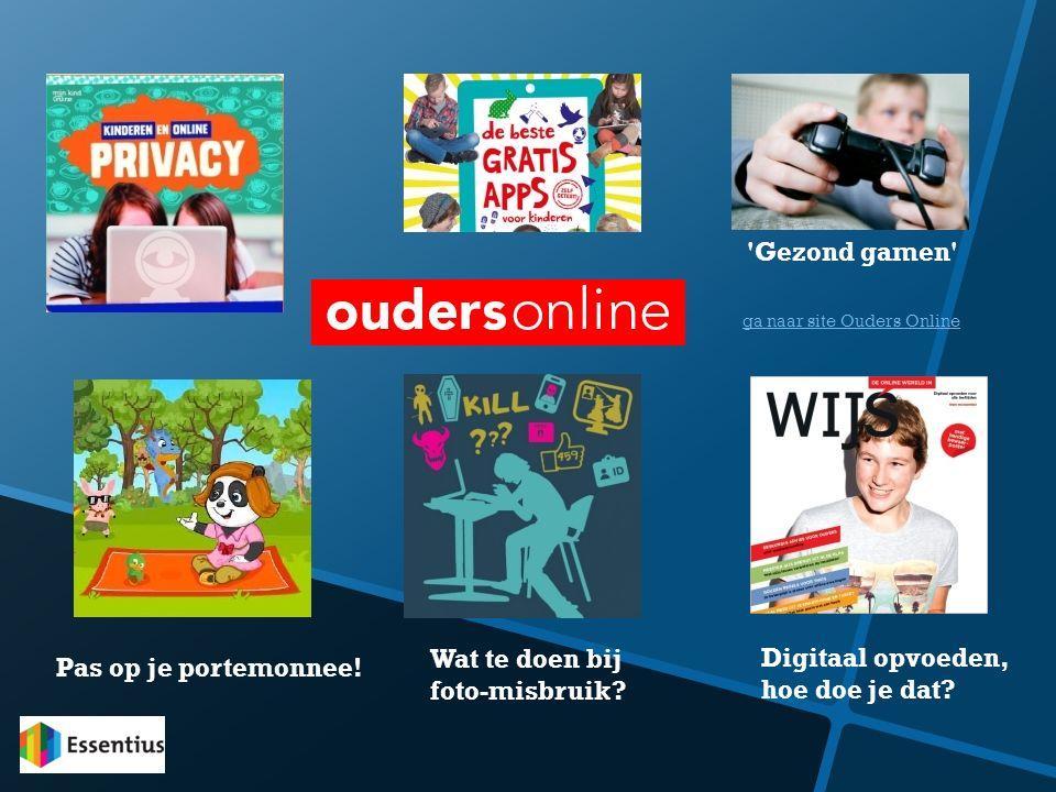 Gezond gamen Wat te doen bij Digitaal opvoeden,