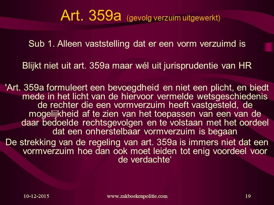 Art. 359a (gevolg verzuim uitgewerkt)