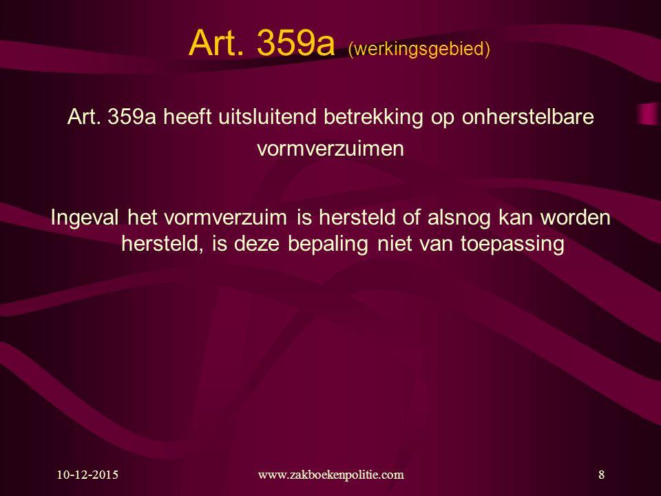 Art. 359a (werkingsgebied)