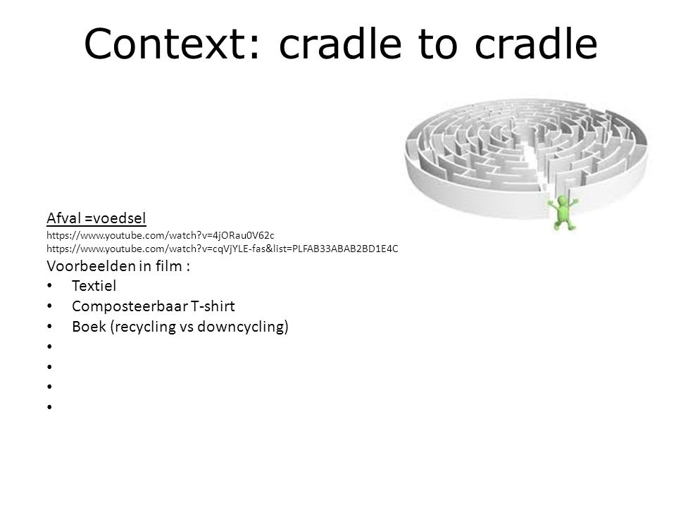 Context: cradle to cradle