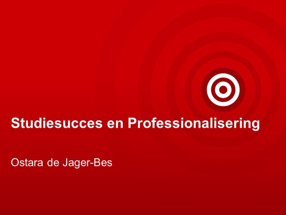 Studiesucces en Professionalisering