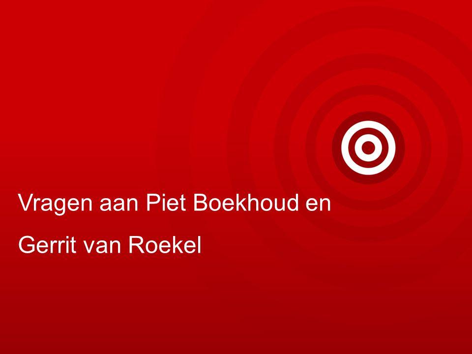 Vragen aan Piet Boekhoud en