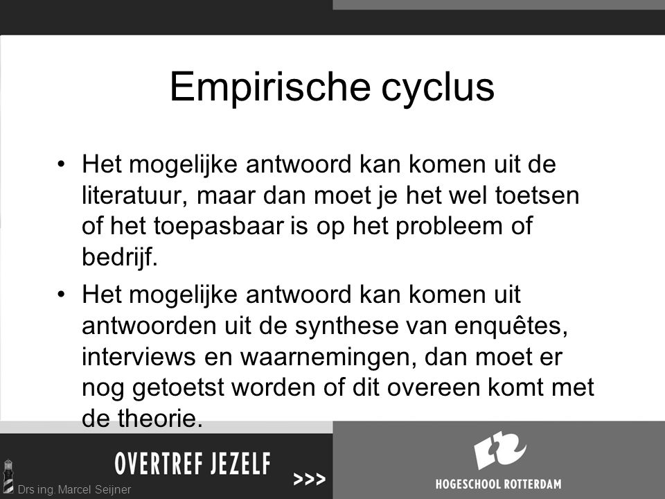 Empirische cyclus