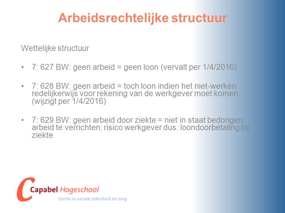 Arbeidsrechtelijke structuur