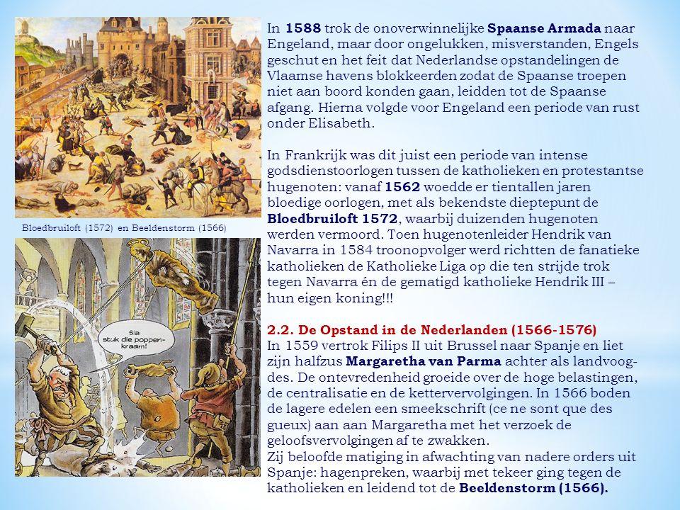 2.2. De Opstand in de Nederlanden (1566-1576)
