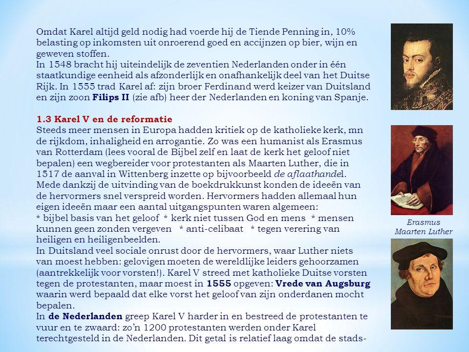 1.3 Karel V en de reformatie
