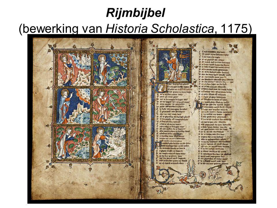 Rijmbijbel (bewerking van Historia Scholastica, 1175)