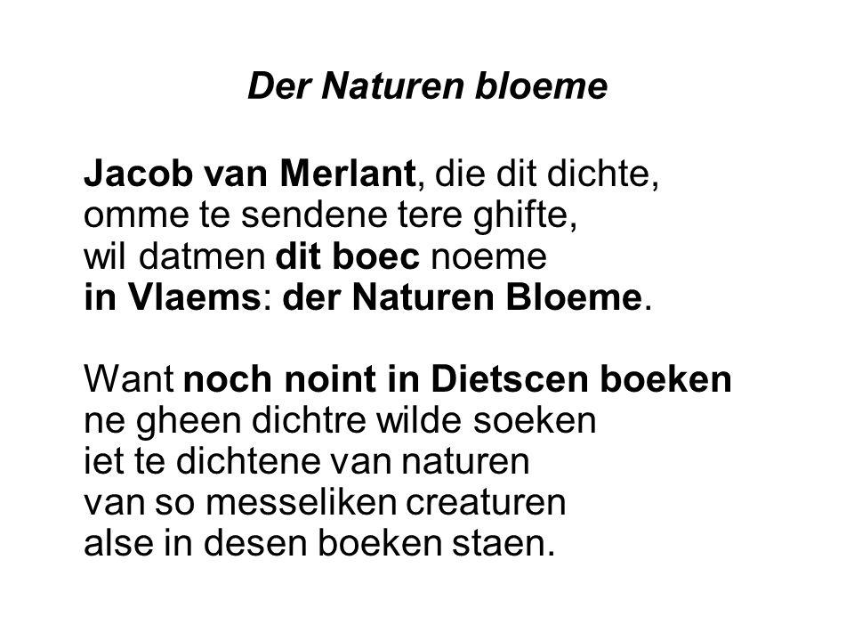 Der Naturen bloeme