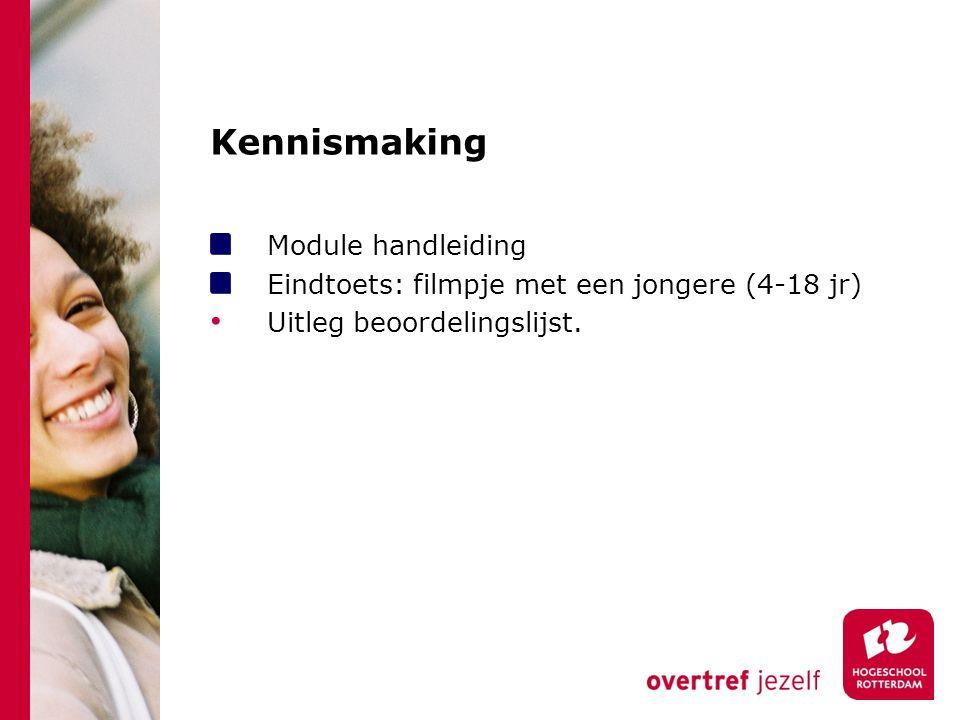 Kennismaking Module handleiding