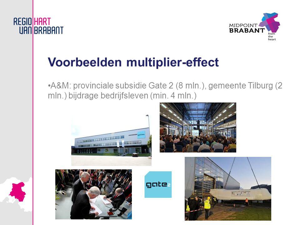 Voorbeelden multiplier-effect