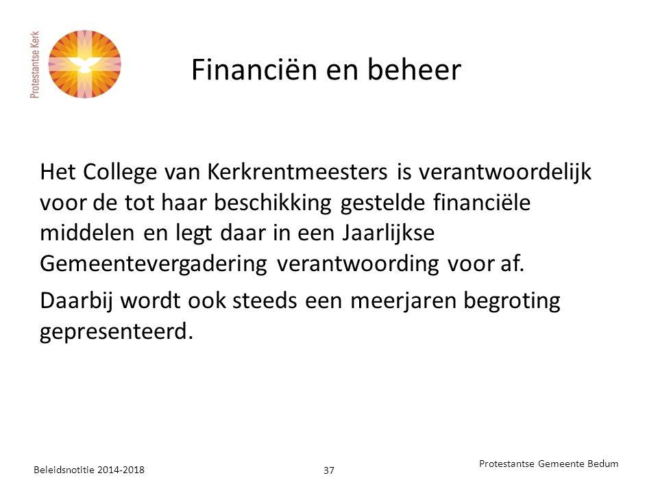 Financiën en beheer