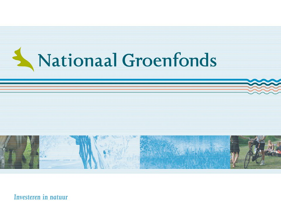 Nationaal Groenfonds Financieringsspecialist natuur en landschap