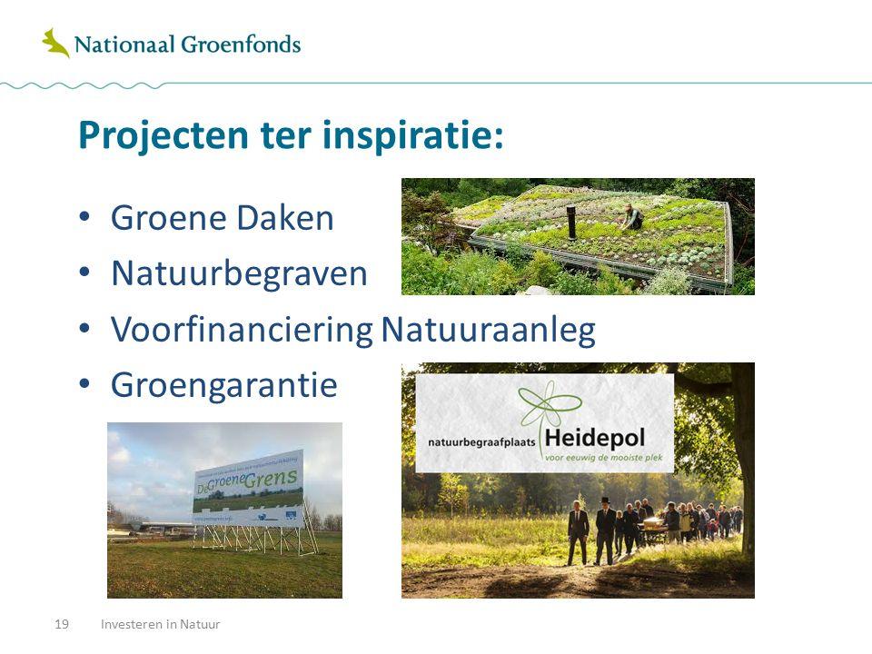 Tot slot: Investeren in Natuur