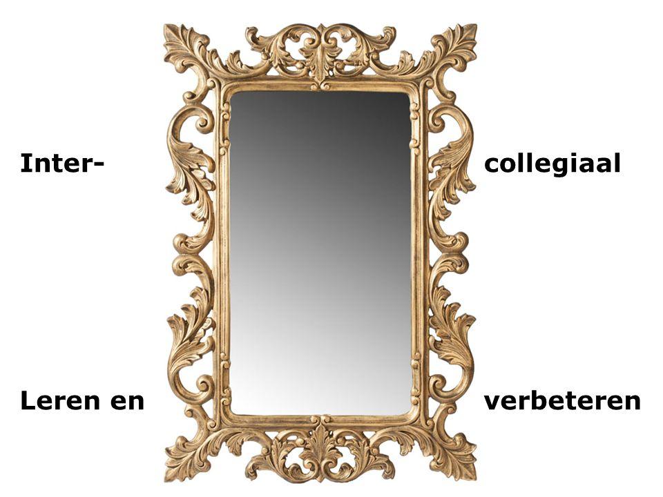 Inter- collegiaal Leren en verbeteren
