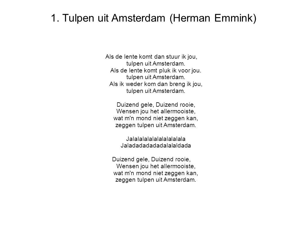 1. Tulpen uit Amsterdam (Herman Emmink)