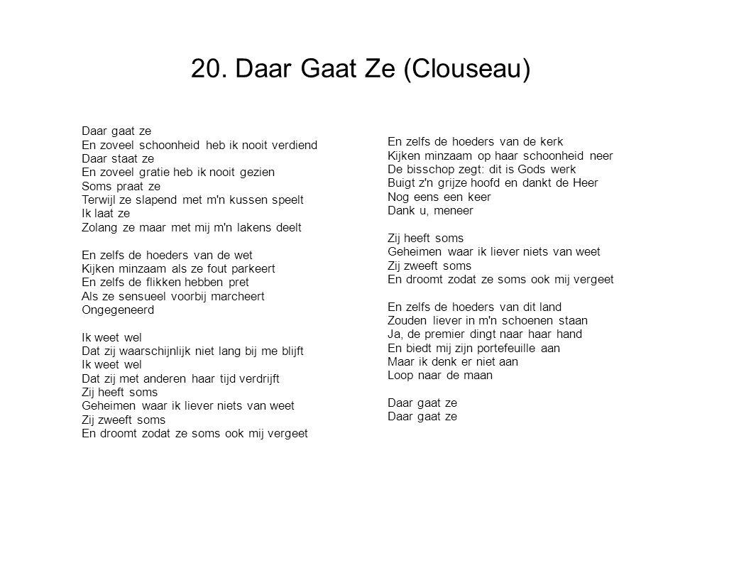 20. Daar Gaat Ze (Clouseau)