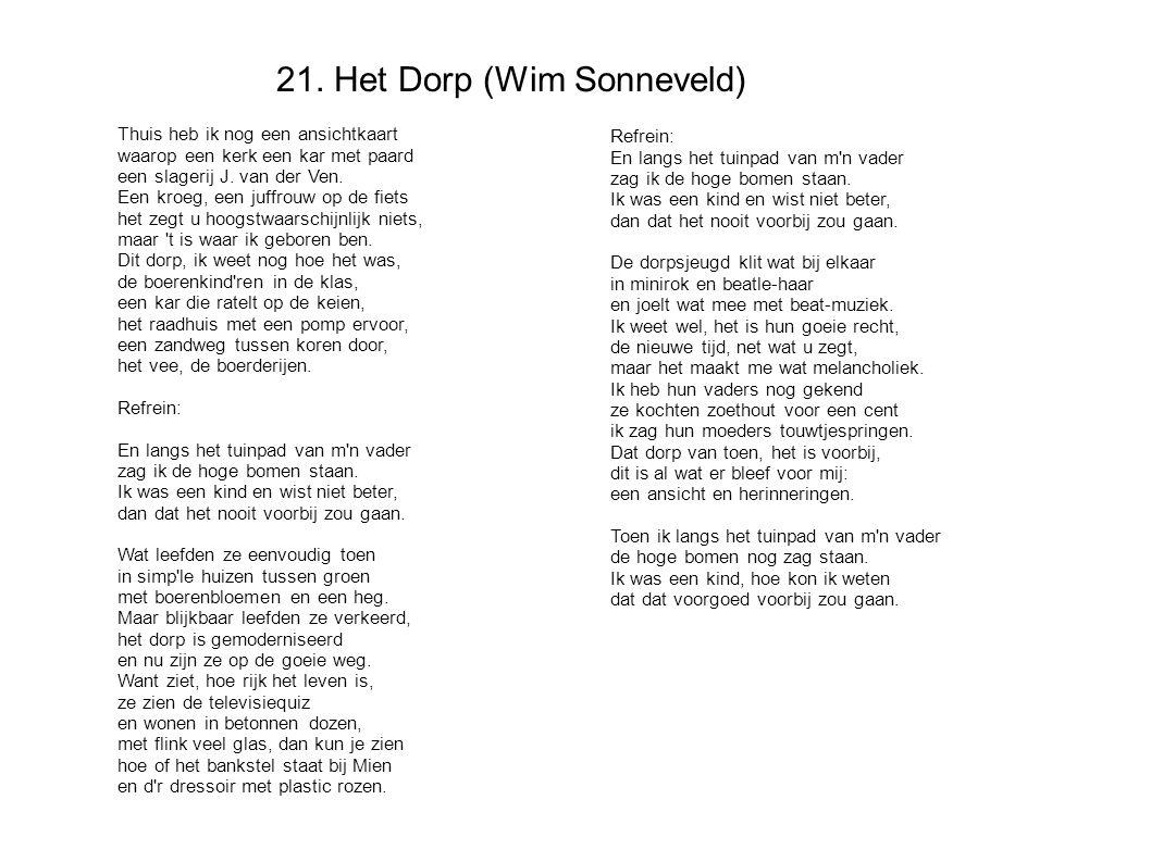 21. Het Dorp (Wim Sonneveld)