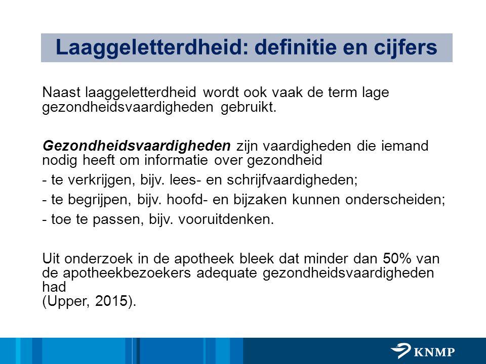Laaggeletterdheid: definitie en cijfers