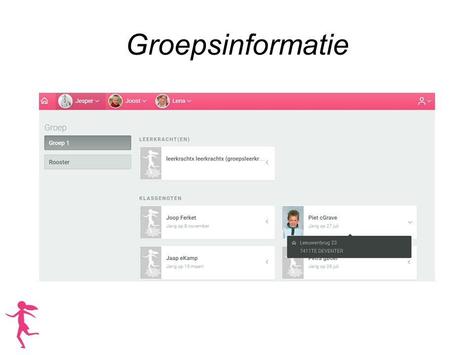 Groepsinformatie