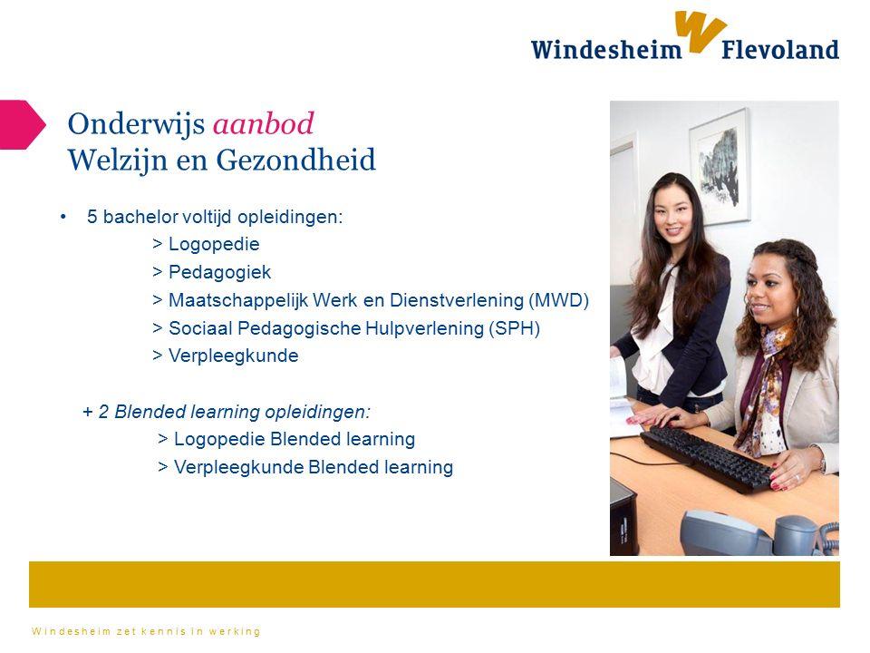 Onderwijs aanbod Welzijn en Gezondheid