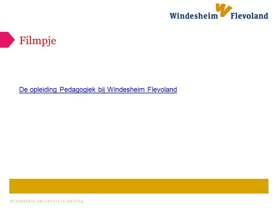 De opleiding Pedagogiek bij Windesheim Flevoland