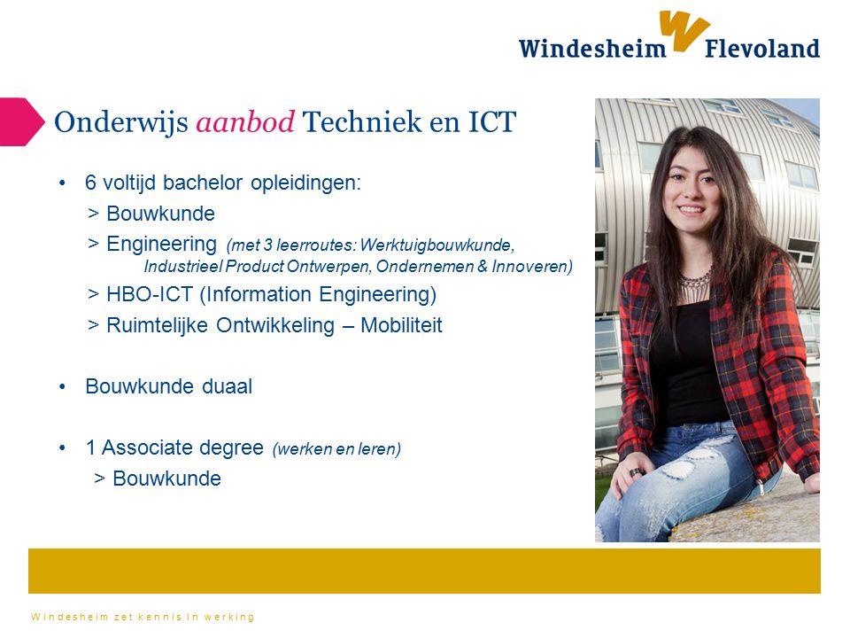Onderwijs aanbod Techniek en ICT