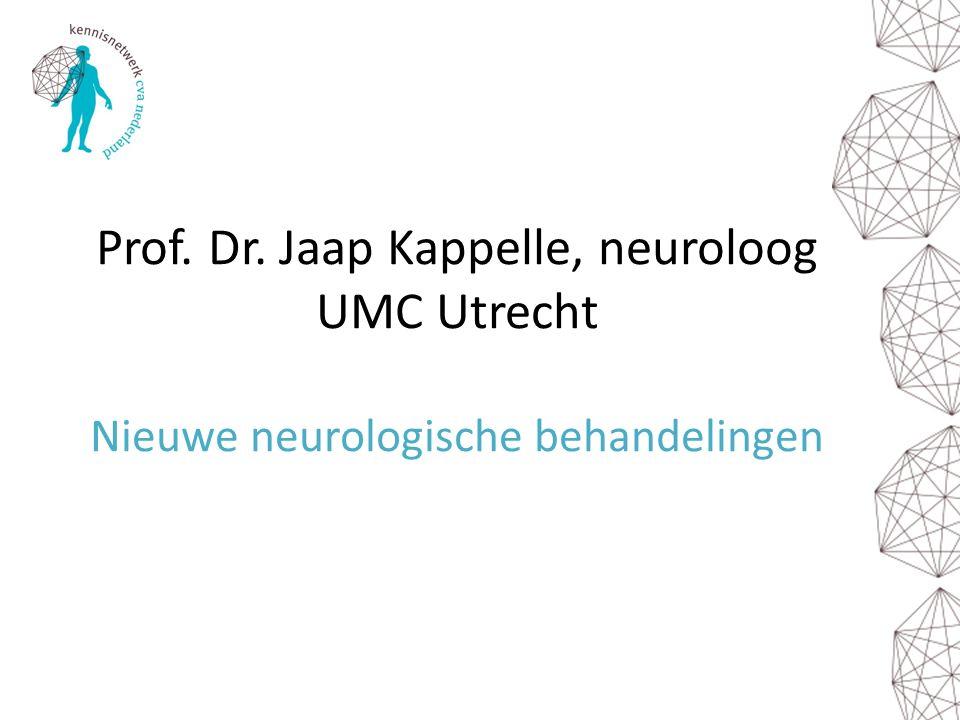 Prof. Dr. Jaap Kappelle, neuroloog UMC Utrecht Nieuwe neurologische behandelingen