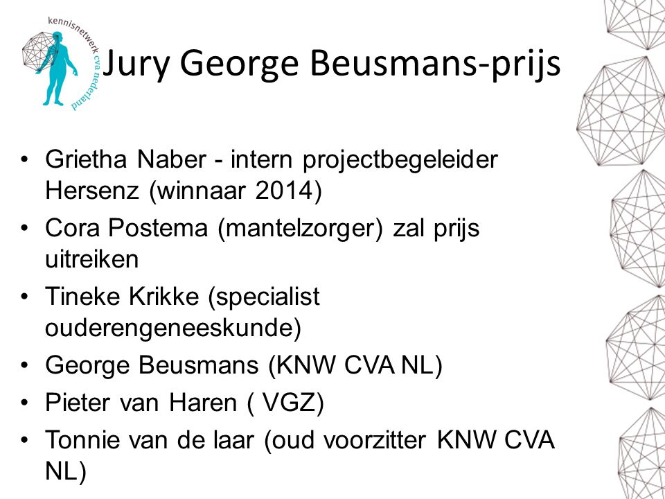 Jury George Beusmans-prijs