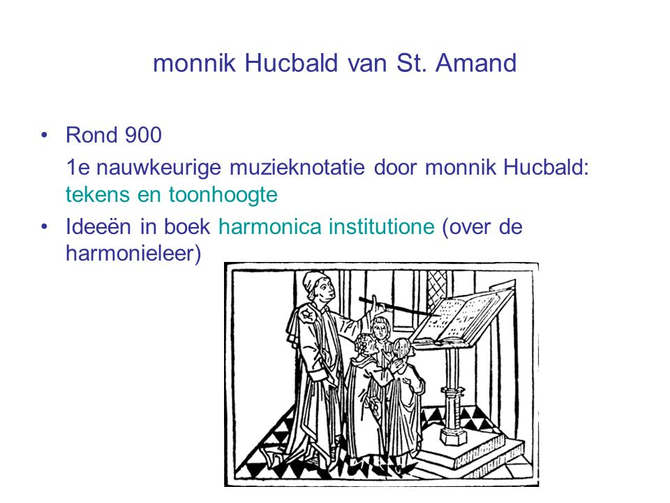 monnik Hucbald van St. Amand