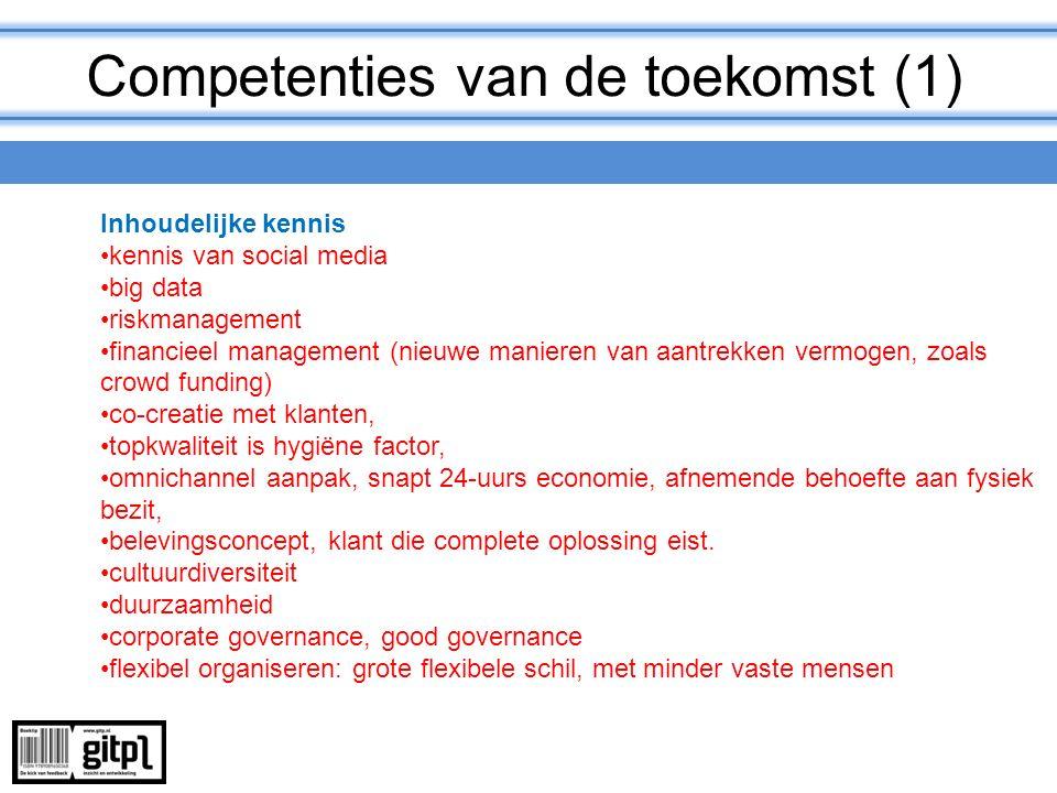 Competenties van de toekomst (1)