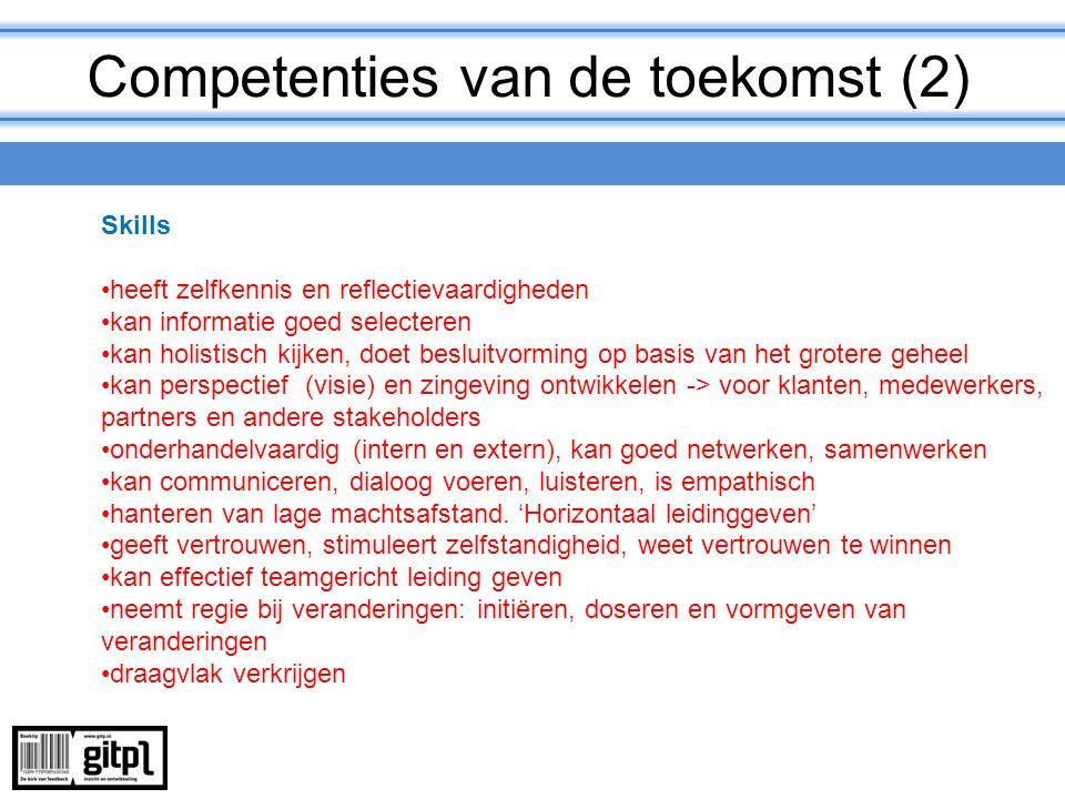 Competenties van de toekomst (2)