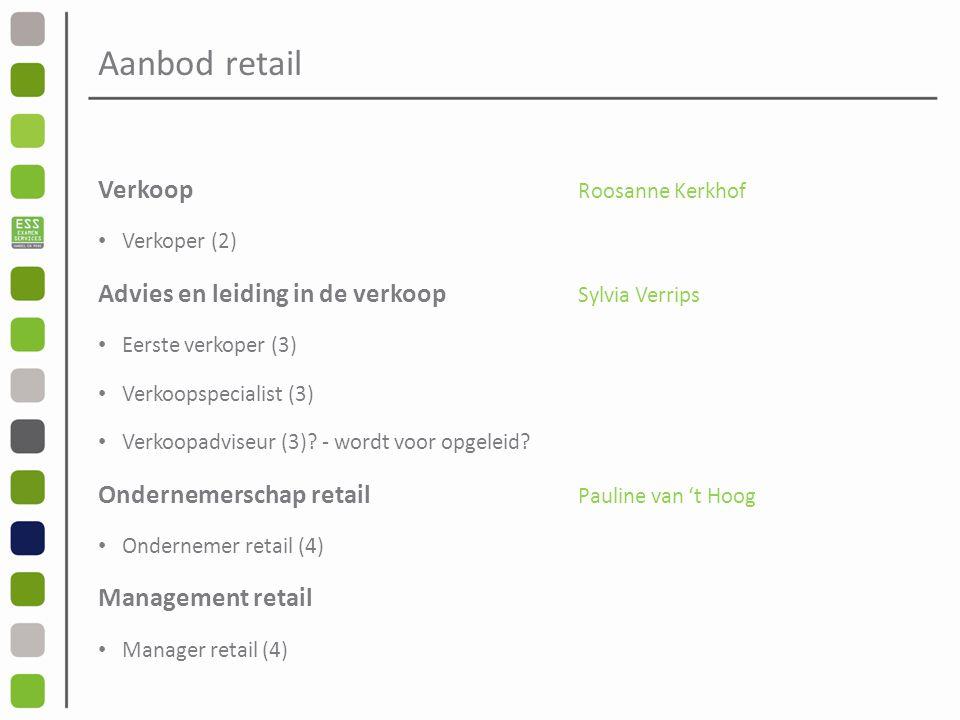 Aanbod retail Verkoop Roosanne Kerkhof