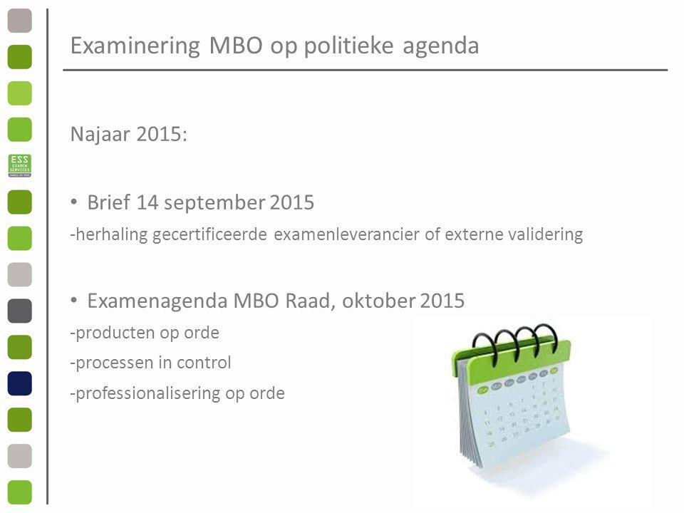 Examinering MBO op politieke agenda