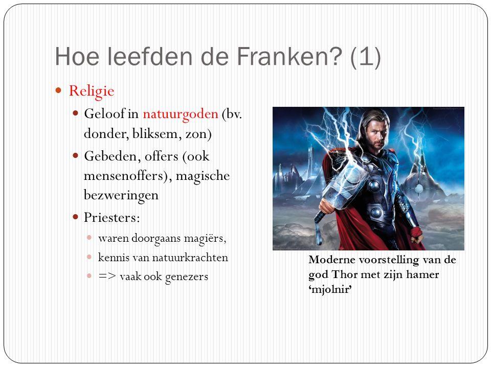Hoe leefden de Franken (1)