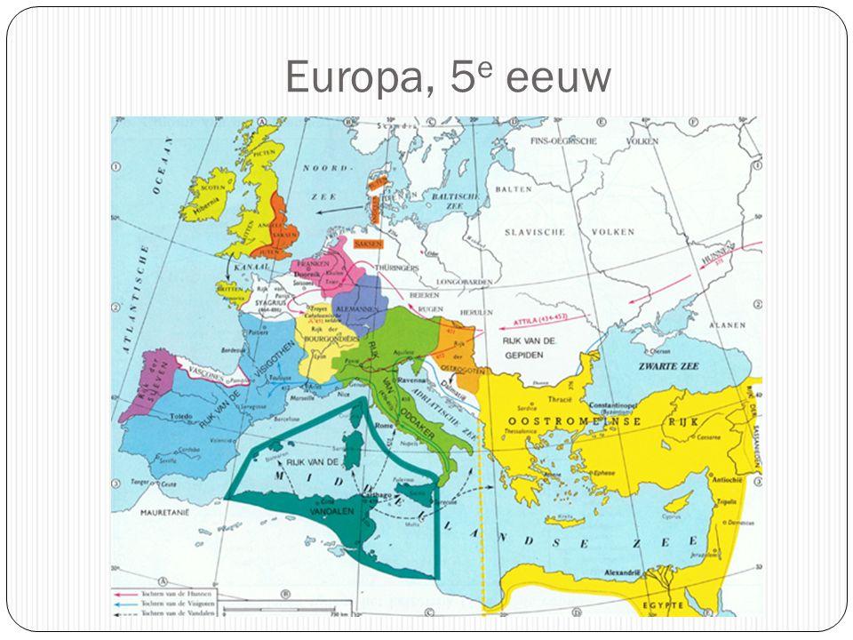 Europa, 5e eeuw