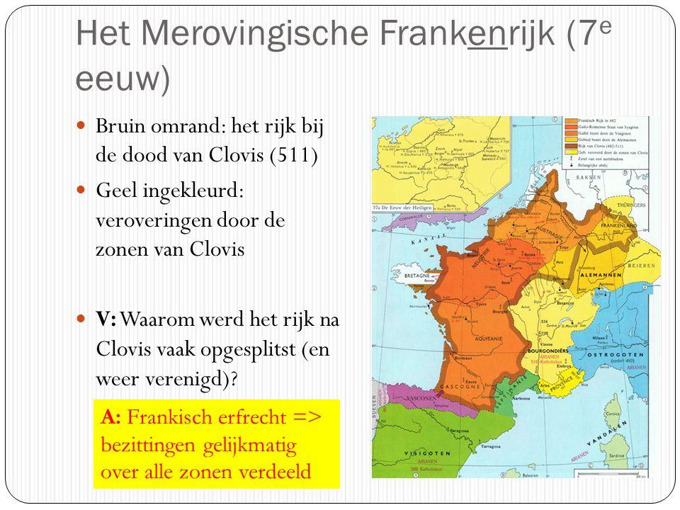 Het Merovingische Frankenrijk (7e eeuw)