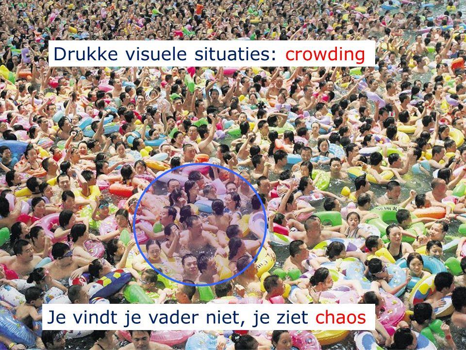 1. Visuele selectieve aandacht Bepaalt wat je ziet: