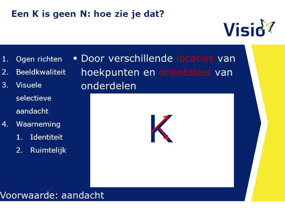 Een K is geen N: hoe zie je dat