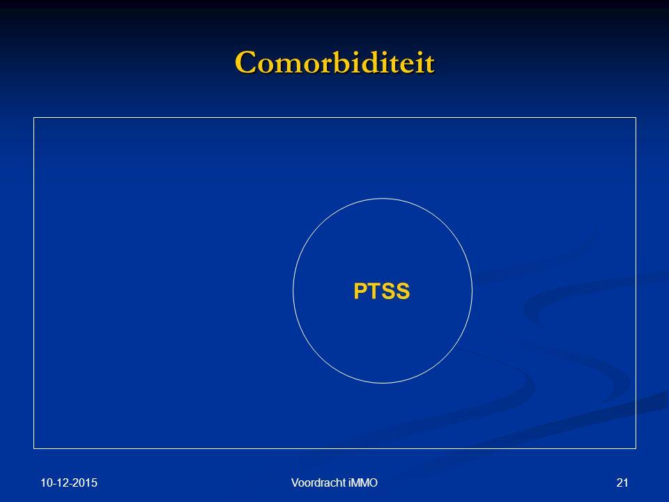 Comorbiditeit PTSS 25-4-2017 Voordracht iMMO