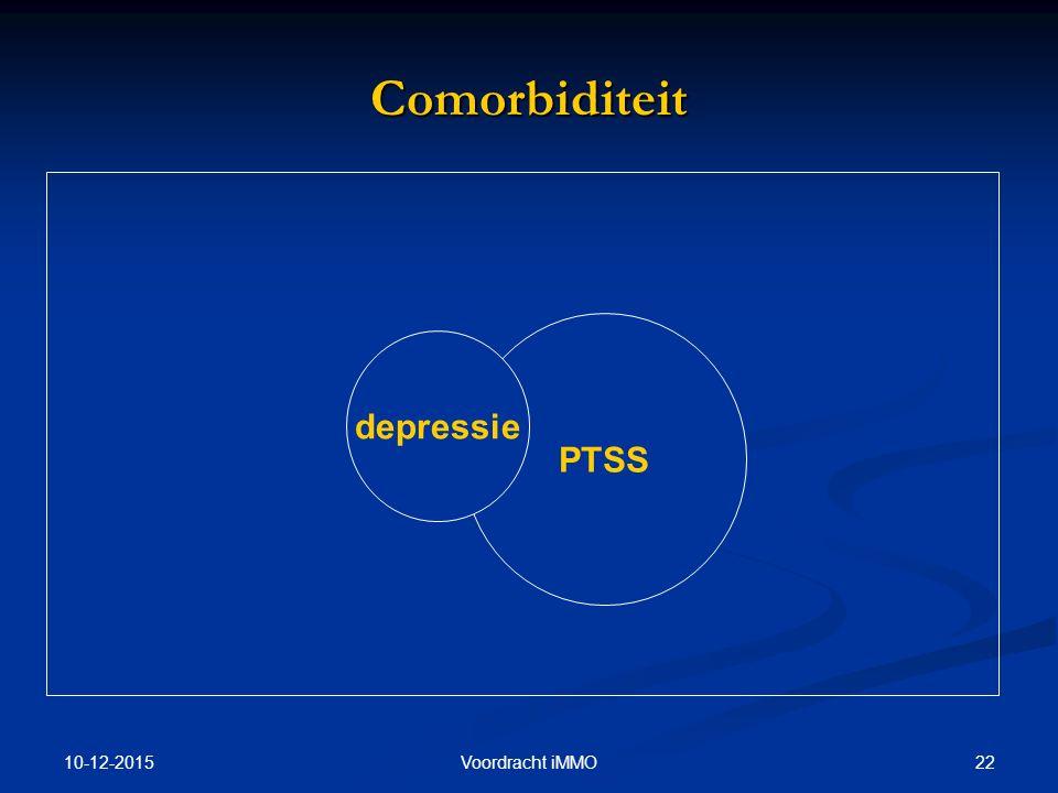 Comorbiditeit PTSS depressie 25-4-2017 Voordracht iMMO