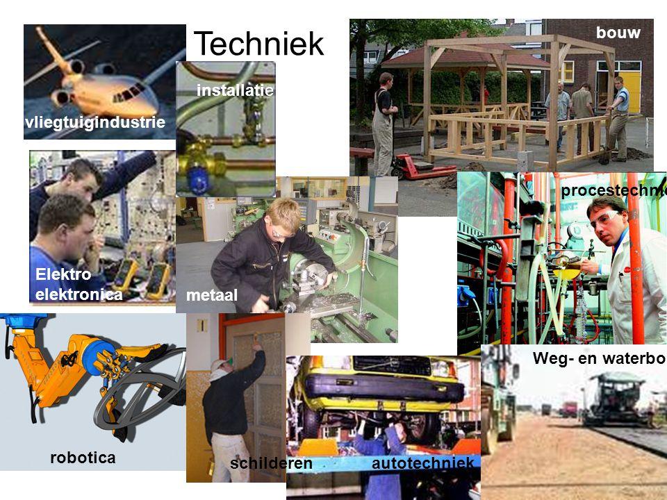 Techniek bouw installatie vliegtuigindustrie procestechniek Elektro