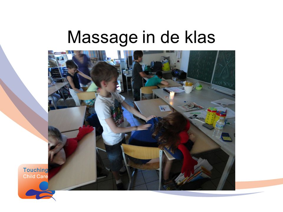 Massage in de klas