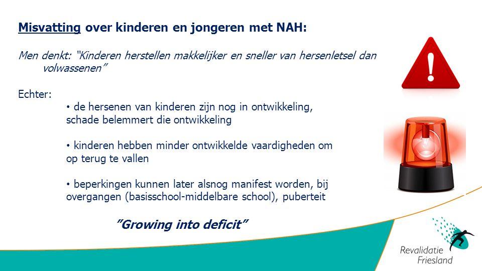 Misvatting over kinderen en jongeren met NAH: