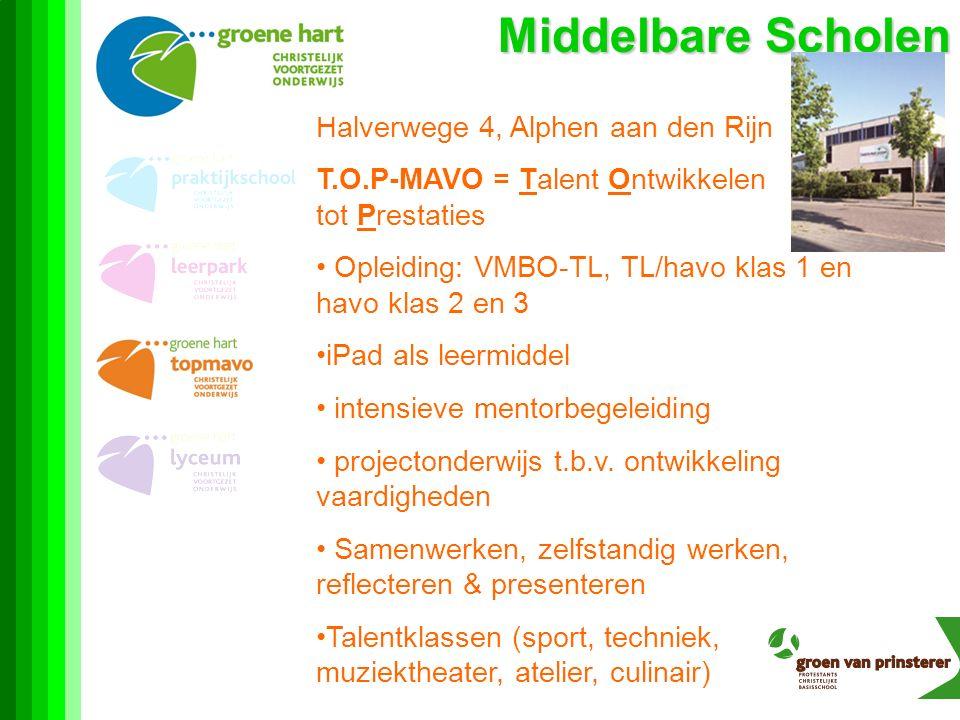 Middelbare Scholen Halverwege 4, Alphen aan den Rijn