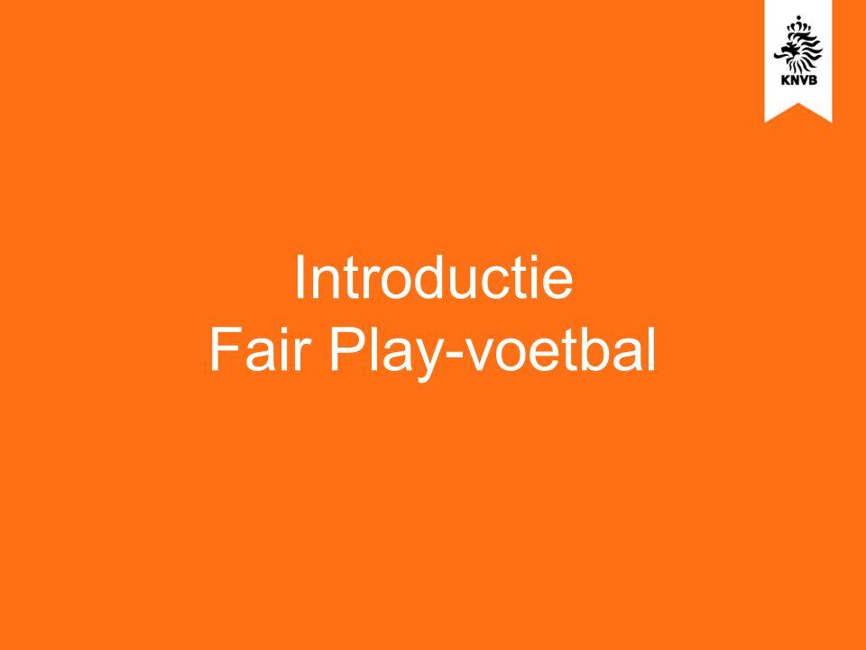 Introductie Fair Play-voetbal