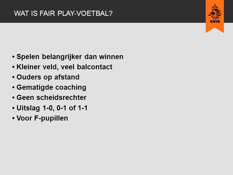 Wat is fair play-voetbal