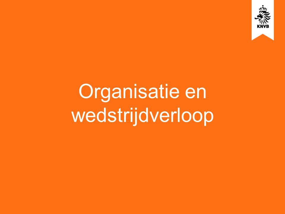 Organisatie en wedstrijdverloop