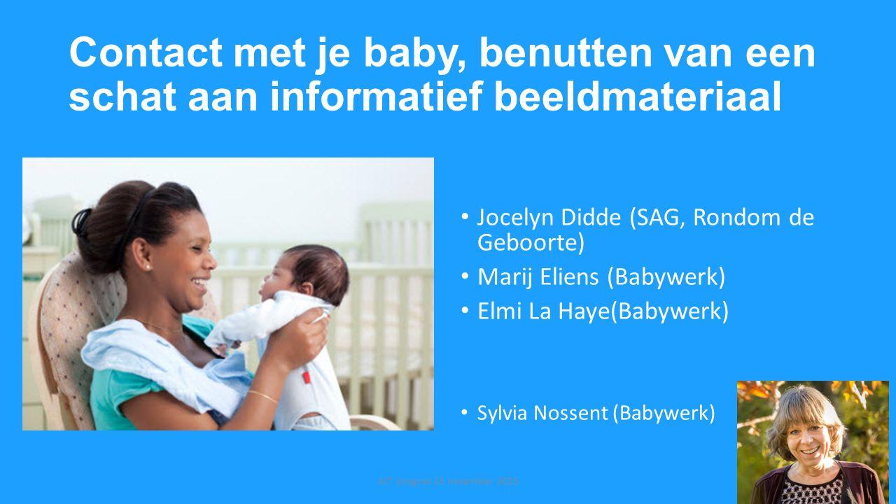 Contact met je baby, benutten van een schat aan informatief beeldmateriaal