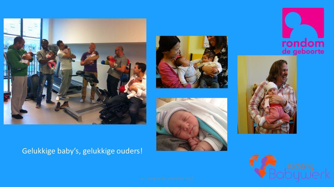Gelukkige baby's, gelukkige ouders!